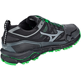 Mizuno Wave Daichi 4 GTX Shoes Men, dark shadow/quiet shade/poison green